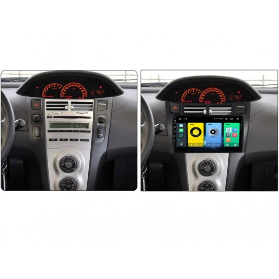 """TOYOTA Yaris - 9"""" МУЛТИМЕДИЯ / Навигация Android 10"""