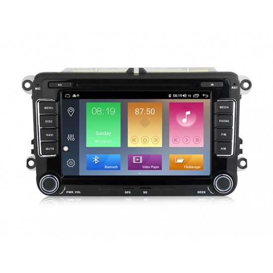 """VW - 7"""" МУЛТИМЕДИЯ / Навигация Android 10 DVD + DSP"""