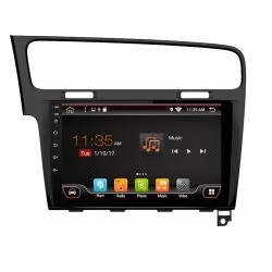 """VW GOLF 7 - 10.1"""" МУЛТИМЕДИЯ / Навигация Android 10"""