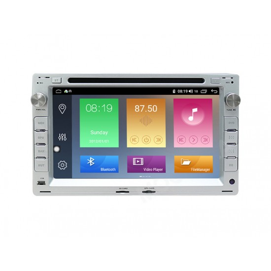 VW - МУЛТИМЕДИЯ / Навигация Android 10 DVD сива + DSP