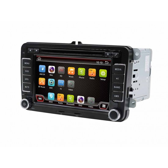 SEAT Altea, Leon, Toledo - МУЛТИМЕДИЯ / Навигация, RAM:4GB, Android 10 DVD