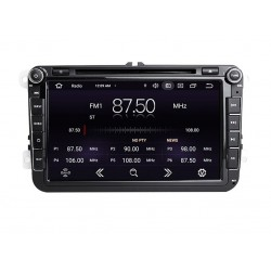 """VW - 8"""" МУЛТИМЕДИЯ / Навигация Android 11 DVD + DSP + CarPlay"""