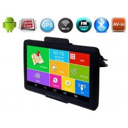 GPS Навигация Hesperus V78 Android QUAD CORE + FM + BT + WIFI + AV-IN