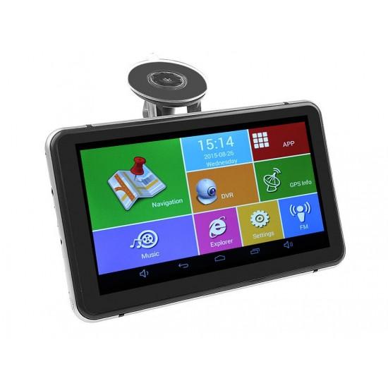 V75DS 8 в 1 - GPS навигация + DVR + TABLET + FM + BT + WIFI +AV-IN + Камера